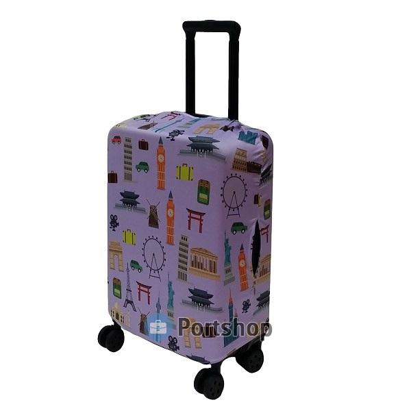 Чехол для чемодана большой Best Bags арт.1011070-L-HERITAGE