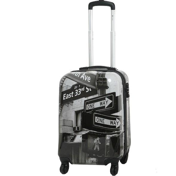 Чемодан малый Best Bags арт.Б-10300156 Street Sign