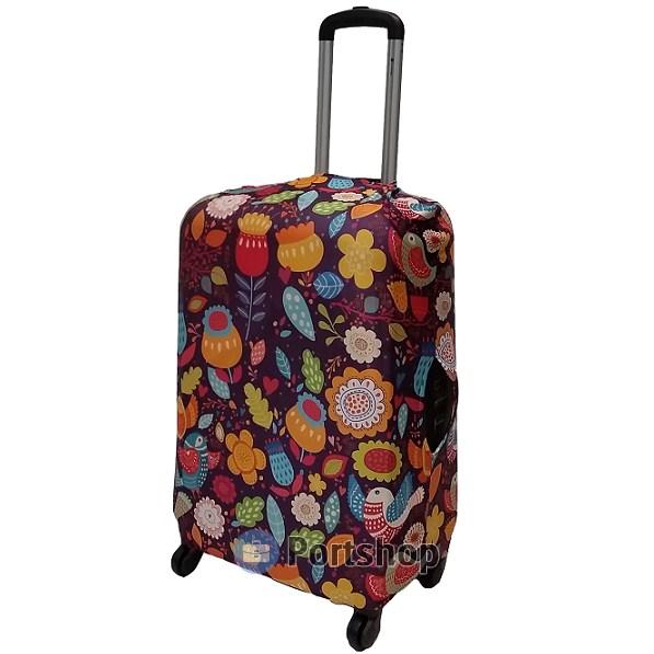 Чехол для чемодана большой Best Bags арт.1173070-L-SUMMER