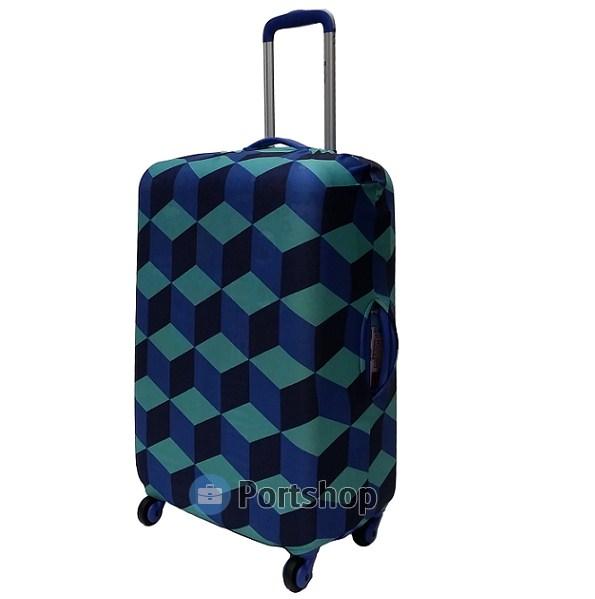 Чехол для чемодана большой Best Bags арт.1200470-L-SQUARE