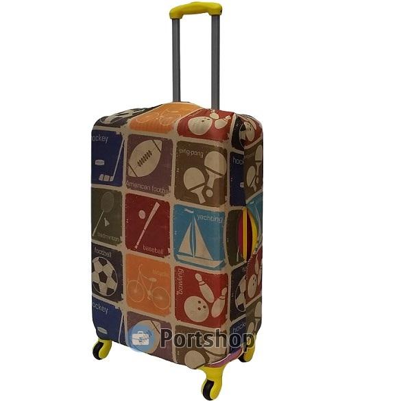 Чехол для чемодана большой Best Bags арт.1239970-L-SPORT