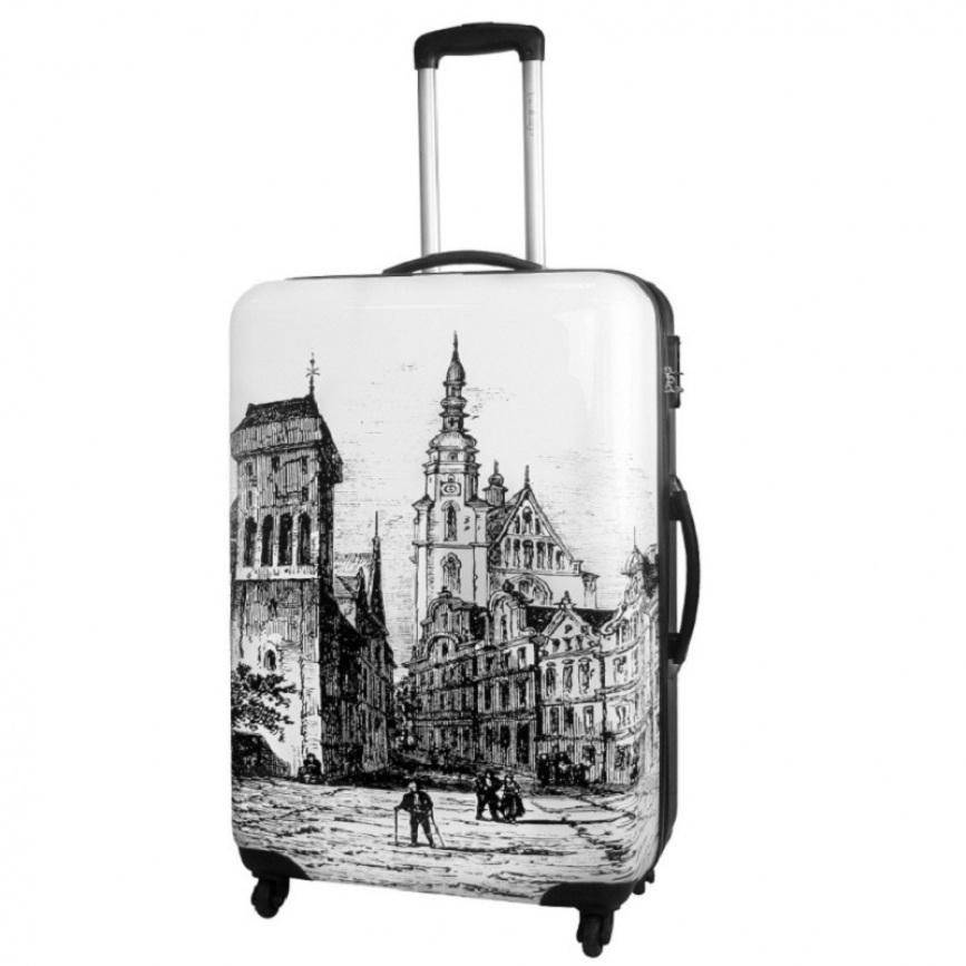 Чемодан малый Best Bags арт.Б-13249951 Old City