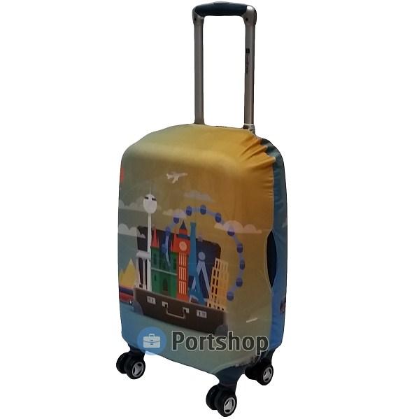 Чехол для чемодана малый Best Bags арт.1329950-S-MYWAY