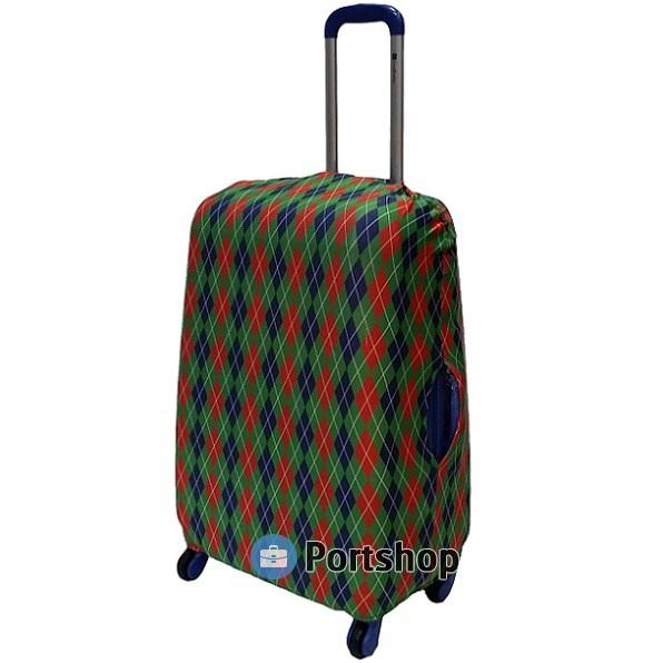 Чехол для чемодана большой Best Bags арт.1385870-L-POKER