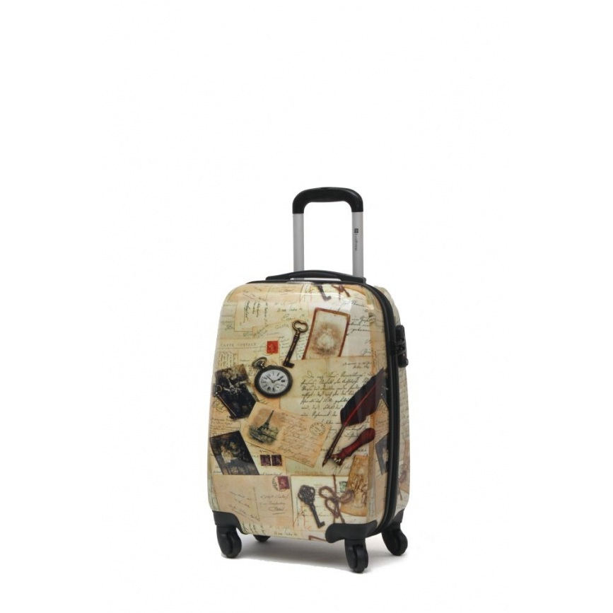 Чемодан малый Best Bags арт.Б-15550655 Letters