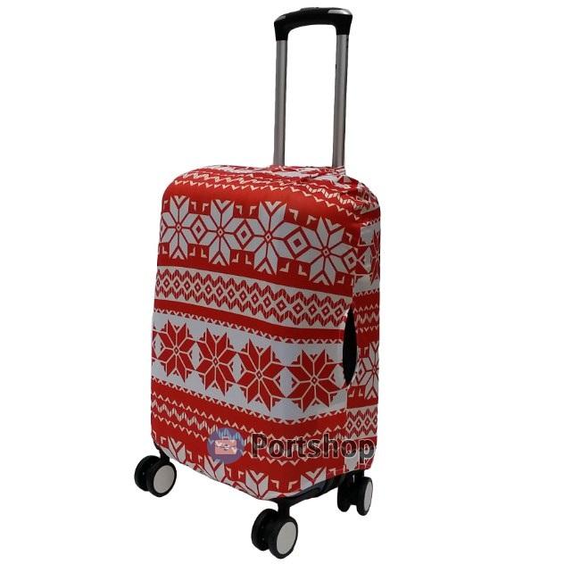 Чехол для чемодана средний Best Bags арт.1613060-M-WINTER