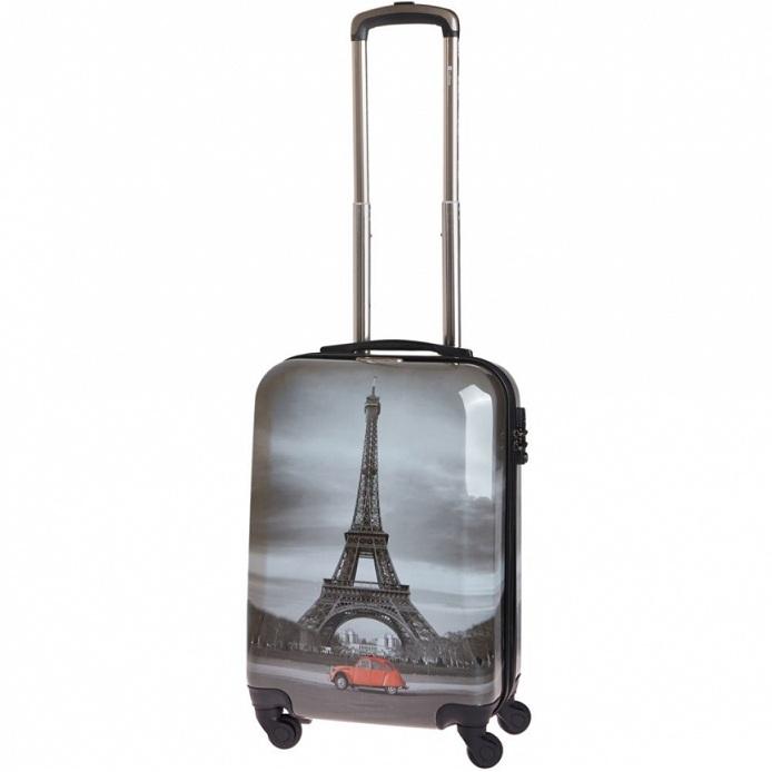 Чемодан малый Best Bags арт.Б-33340156 Paris By Night