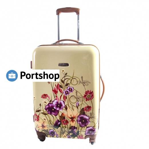 Чемодан средний Best Bags арт.Б-33958866 Giardino
