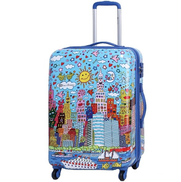 Чемодан средний Best Bags арт.Б-41120468 Sunny Day