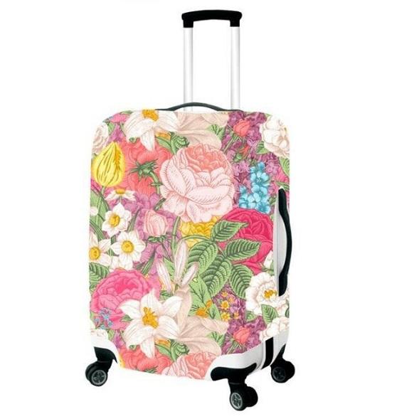 Чехол для чемодана большой Best Bags арт.4889970-L-ROSES