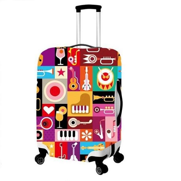 Чехол для чемодана большой Best Bags арт.5979970-L-MY-NIGHT