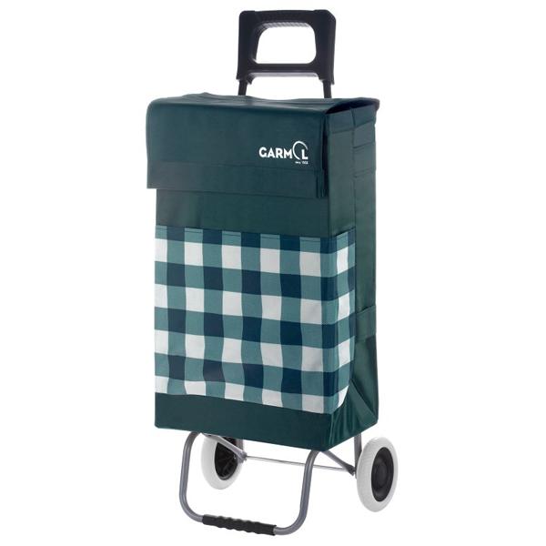 Вместительная каркасная сумка-тележка для пикников со складным шасси на двух колесах.  1860руб.
