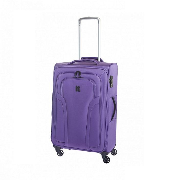 Чемодан средний IT Luggage арт.IT-120942E04-M Megalite purple