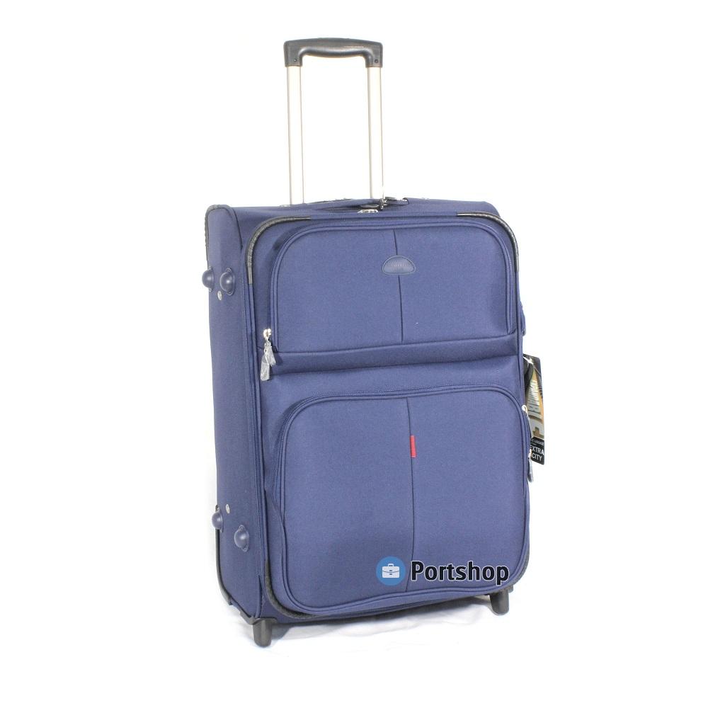 Чемодан средний Travellers Club арт.GM241T-24 blue