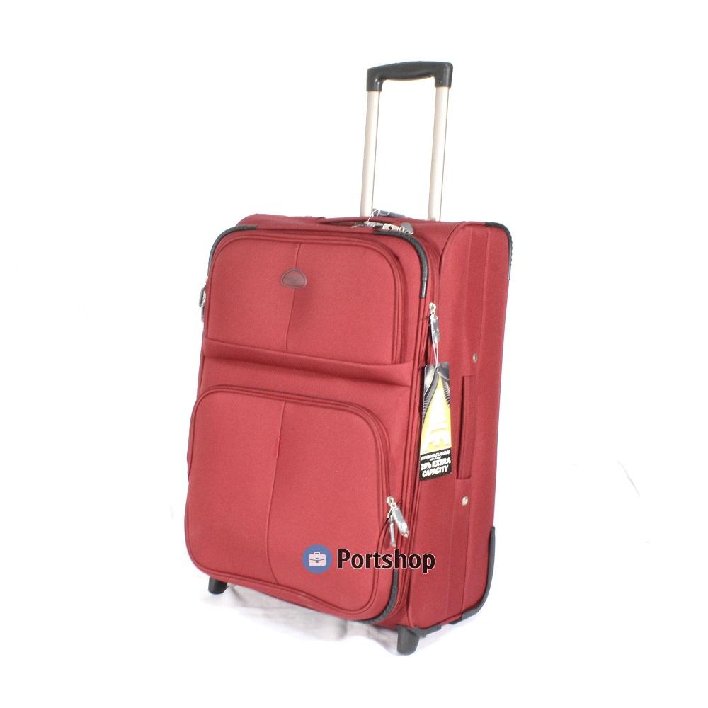 Чемодан средний Travellers Club арт.GM241T-24 red